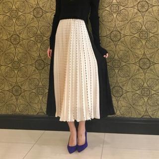 GRACE CONTINENTAL - グレースコンチネンタル ステッチライン配色スカート