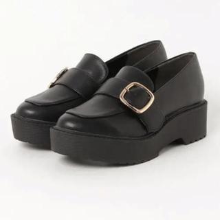 ヘザー(heather)のバックル マニッシュシューズ(ローファー/革靴)