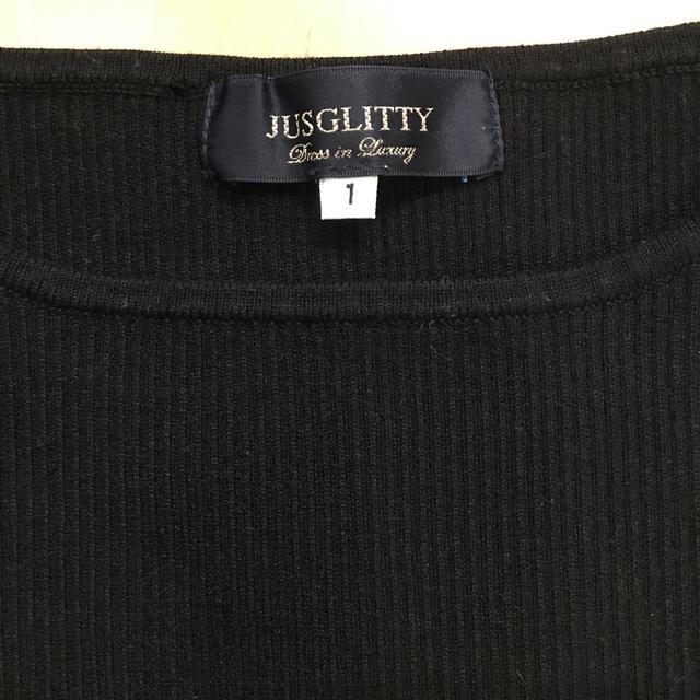 JUSGLITTY(ジャスグリッティー)のジャスグリッティー♡ワンピース レディースのワンピース(ひざ丈ワンピース)の商品写真