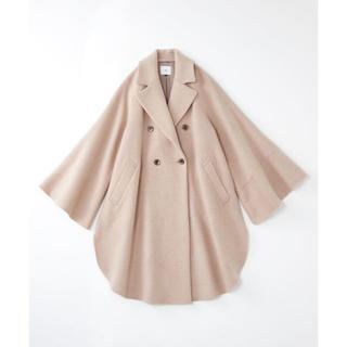 DOUBLE STANDARD CLOTHING - 雑誌掲載 Sov. / PESCA LAMB REVER ポンチョコート
