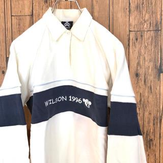 ウィルソン(wilson)の90's Wilson レディース ラガーシャツ スウェットシャツ(トレーナー/スウェット)
