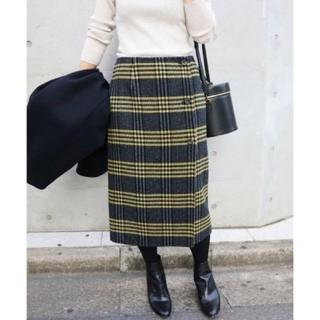 イエナ(IENA)の【最終値下げ!!】IENA Wフェイスリバーシブル ミッドカーフスカート(ロングスカート)