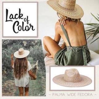 ルームサンマルロクコンテンポラリー(room306 CONTEMPORARY)の【も様専用】Lack of Color / Palma Wide Fedora(麦わら帽子/ストローハット)
