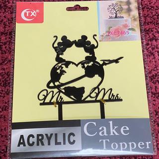 即購入大歓迎 ⭐︎ ウェディング ケーキトッパー ミッキー ミニー パーティー