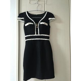 ジュエルズ(JEWELS)のブラック ドレス(ナイトドレス)