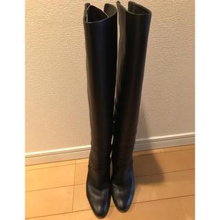ジュゼッペザノッティ(GIUZEPPE ZANOTTI)のジュゼッペザノッティ 黒 ニーハイブーツ(ブーツ)