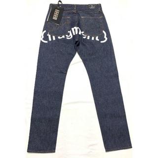 モンクレール(MONCLER)の新品 Size46 19-20AW モンクレール フラグメント デニム パンツ(デニム/ジーンズ)