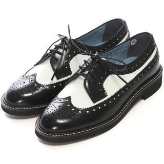 ハルタ(HARUTA)の【新品未使用】ハルタ HARUTA レザーウィングチップシューズ 23cm(ローファー/革靴)