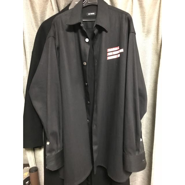 RAF SIMONS(ラフシモンズ)のrafsimons クリスチーネF デニムシャツジャケット メンズのジャケット/アウター(Gジャン/デニムジャケット)の商品写真