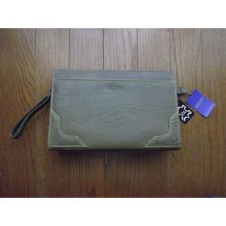 ケンゾー(KENZO)の#最終価格#【新品・未使用】KENZO 本革製 セカンドバッグ(セカンドバッグ/クラッチバッグ)