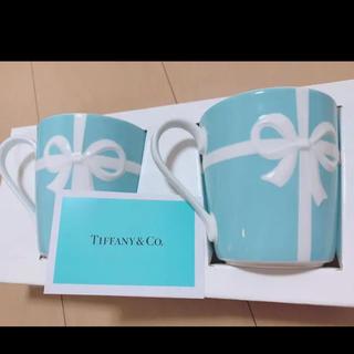 Tiffany & Co. - 【新品未使用】ティファニー マグカップ ペアセット