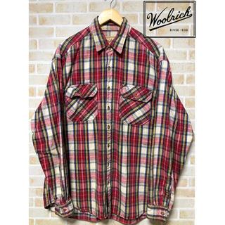 ウールリッチ(WOOLRICH)の【USED】90年代 ウールリッチ WOOLRICH チェック柄 ネルシャツ(シャツ)