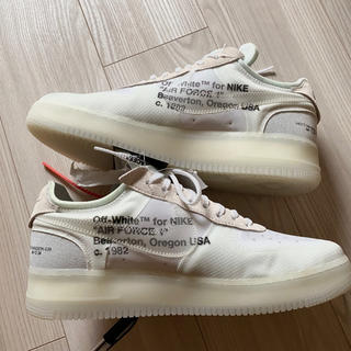 OFF-WHITE - 30センチTHE TEN 1st初期 offwhite af1