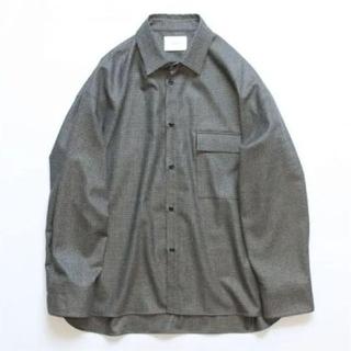 stein 19aw oversized down pad shirt M