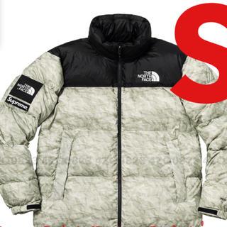 Supreme - 【S】Supreme TNF Paper Print Nuptse Jacket