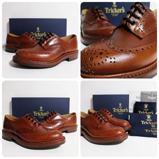 Trickers - 新品 Tricker's Bourton UK6.5 Marron バートン