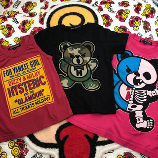 HYSTERIC MINI - joey  Tシャツ