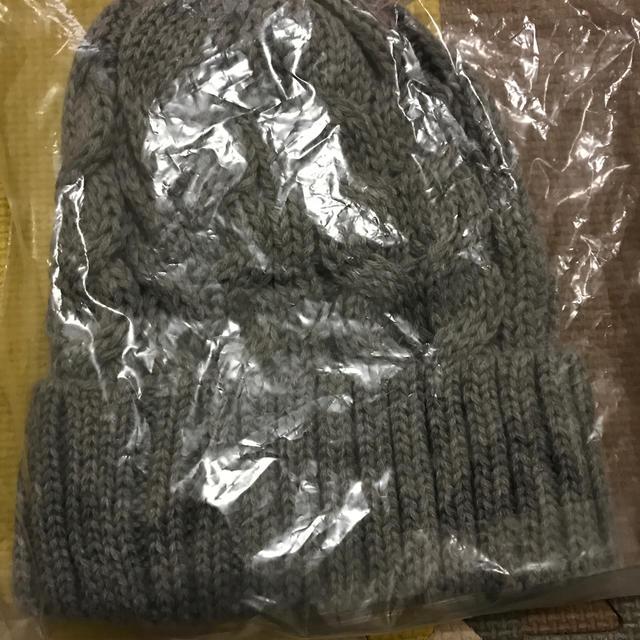 POLO RALPH LAUREN(ポロラルフローレン)のポロ ニット帽 新品未開封 タグ付き レディースの帽子(ニット帽/ビーニー)の商品写真