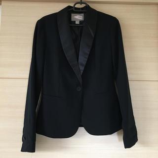 FOREVER 21 - Forever21 テーラードジャケット  ブラック フォーマル スーツ