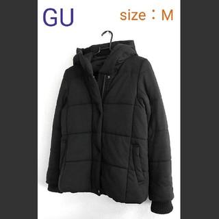 GU - GU  Mサイズ スウェット素材ダウンジャケット