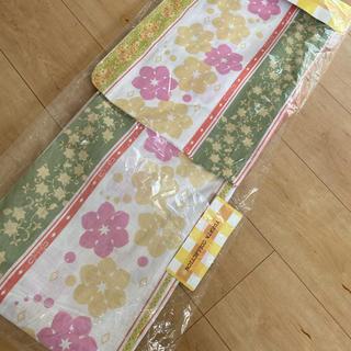シマムラ(しまむら)のYUKATA collection新品未使用タグ付き帯なし(浴衣)