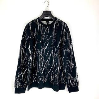 エイチアンドエム(H&M)のH&M SixTONES ジェシー着用 ブラック L オーバーサイズ トレーナー(スウェット)