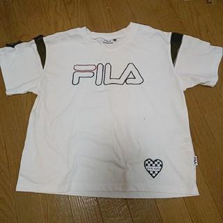 ピンクラテ(PINK-latte)のピンクラテ FILA コラボTシャツ(Tシャツ(半袖/袖なし))
