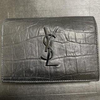 Saint Laurent - サンローラン モノグラム ウォレット 二つ折り財布