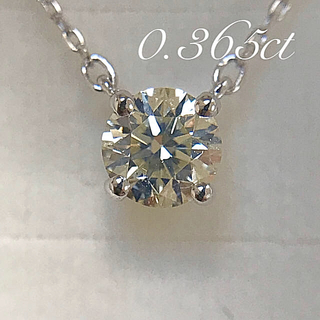 canal4℃ - canal 4℃★0.365ct K18 ダイヤモンドネックレス