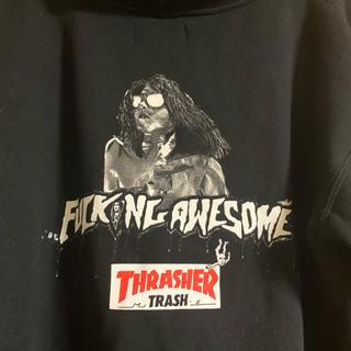 スラッシャー(THRASHER)のfucking awesome × thrasher パーカー(パーカー)