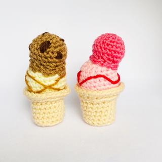 アイスクリーム(ぬいぐるみ/人形)