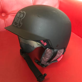 バートン(BURTON)のスノボ バートン レッド キッズ ヘルメット(ウエア/装備)