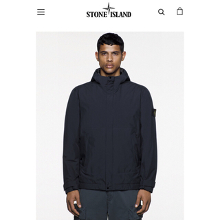 ストーンアイランド(STONE ISLAND)の定価16万 Stone Island 19awGORE-TEX ダウンジャケット(ダウンジャケット)