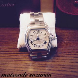 Cartier - 超美品 ※カルティエ※ ロードスター メンズ SSブレス 自動巻き腕時計