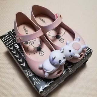 melissa - ミニメリッサ 猫ちゃんラバーサンダル 18.5
