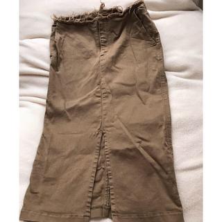 ドゥーズィエムクラス(DEUXIEME CLASSE)のドゥーズィエムクラス  ベージュ タイトスカート(ひざ丈スカート)