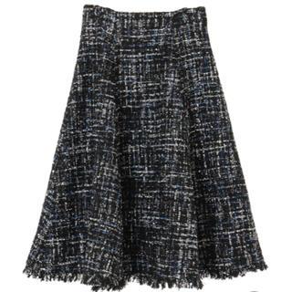 31 Sons de mode - トランテアンソンドゥモード ツイード スカート 黒 ラメ デート 可愛い