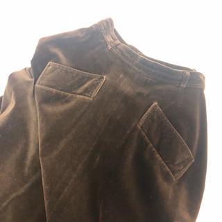 ロキエ(Lochie)のVintage ベロアスカート Olgou購入(ロングスカート)