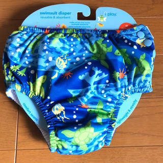 アイプレイ スイムパンツ 水泳 スイミング オムツ機能付 ベビー  水着 未使用