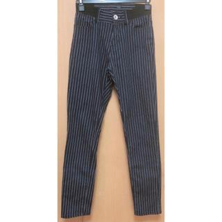 heather - ヘザー ストライプ ネイビー パンツ ズボン