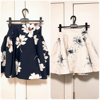 snidel - SNIDEL  マーガレット スカート 2色セット