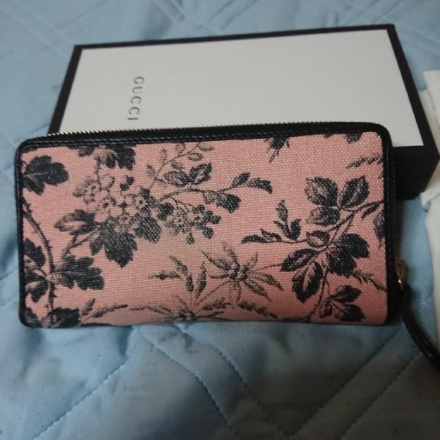 Gucci(グッチ)のお値下げ⤵️希少❗😊GUCCI ハーバリウム日本限定長財布👝👝 レディースのファッション小物(財布)の商品写真