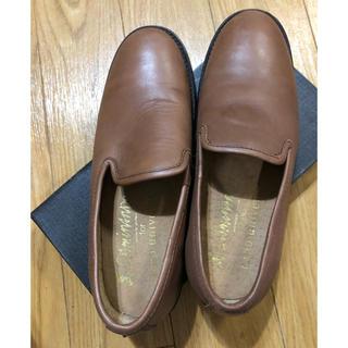 ナノユニバース(nano・universe)のローヒールスリッポン(ローファー/革靴)
