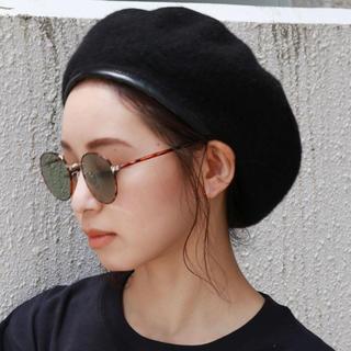 Ungrid - 新品未使用 ungrid アングリッド パイピングベレー帽 ブラック