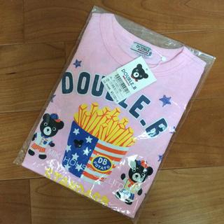 DOUBLE.B - ダブルB 新品未開封☆ ピンクポテト 長袖Tシャツ