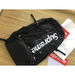Supreme - 17ss supreme backpack