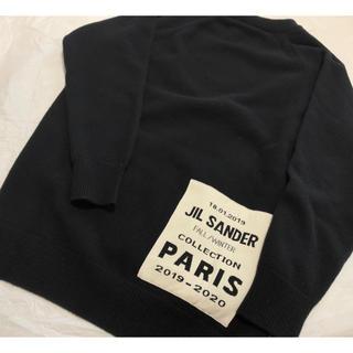 Jil Sander - 【正規品 美品】 19aw Jil Sander パッチ スリット セーター