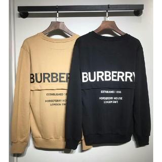BURBERRY - BURBERRY トレーナー パーカー  カジュアル おしゃれ 男女兼用