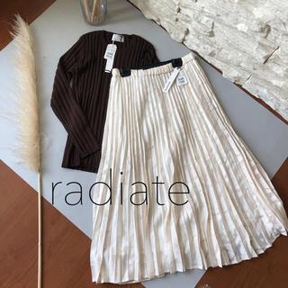 SCOT CLUB - 新品1.5万★ radiate 上質日本製 ペイズリー柄プリーツスカート