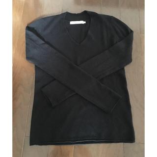 アズールバイマウジー(AZUL by moussy)のAZUL   Vネック長袖ニット 黒、白、グレー、赤 4枚セット XSサイズ(ニット/セーター)